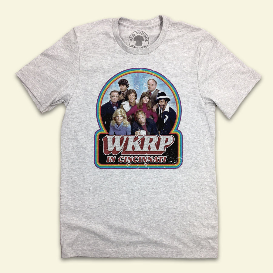 WKRP Full Color Cast Logo