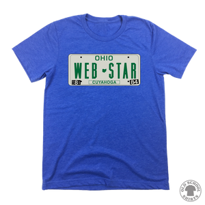 Web Star License Plate