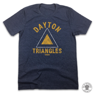 Dayton Triangles - Old School Shirts- Retro Sports T Shirts