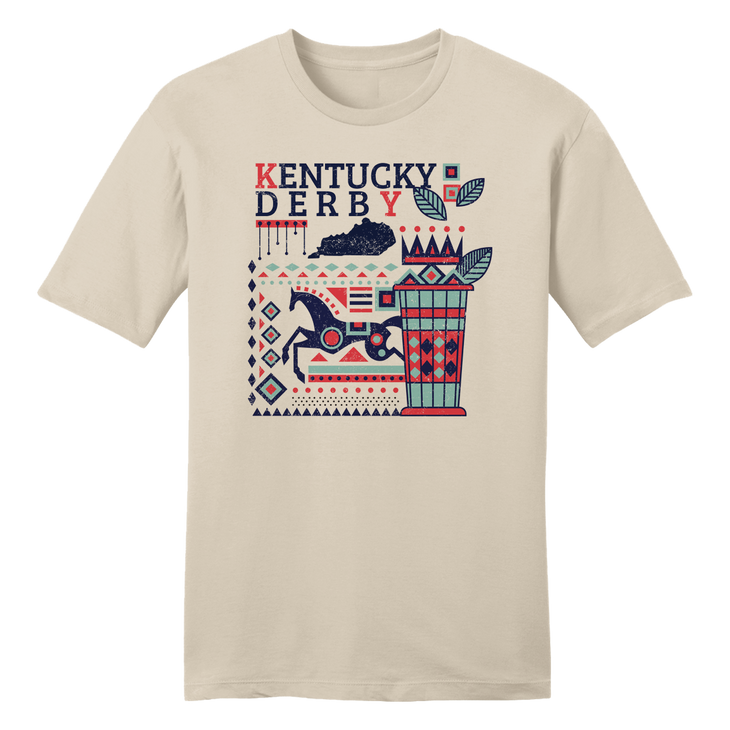 Derby Southwest Motif T-shirt