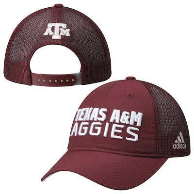 Adidas Texas A&MAggies Travel Slouch Adjustable Hat (Maroon) - TXAG Store