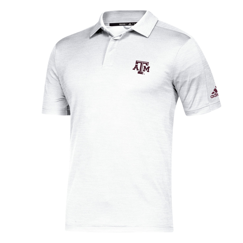 '19 Game Mode Sideline Polo - White - TXAG Store