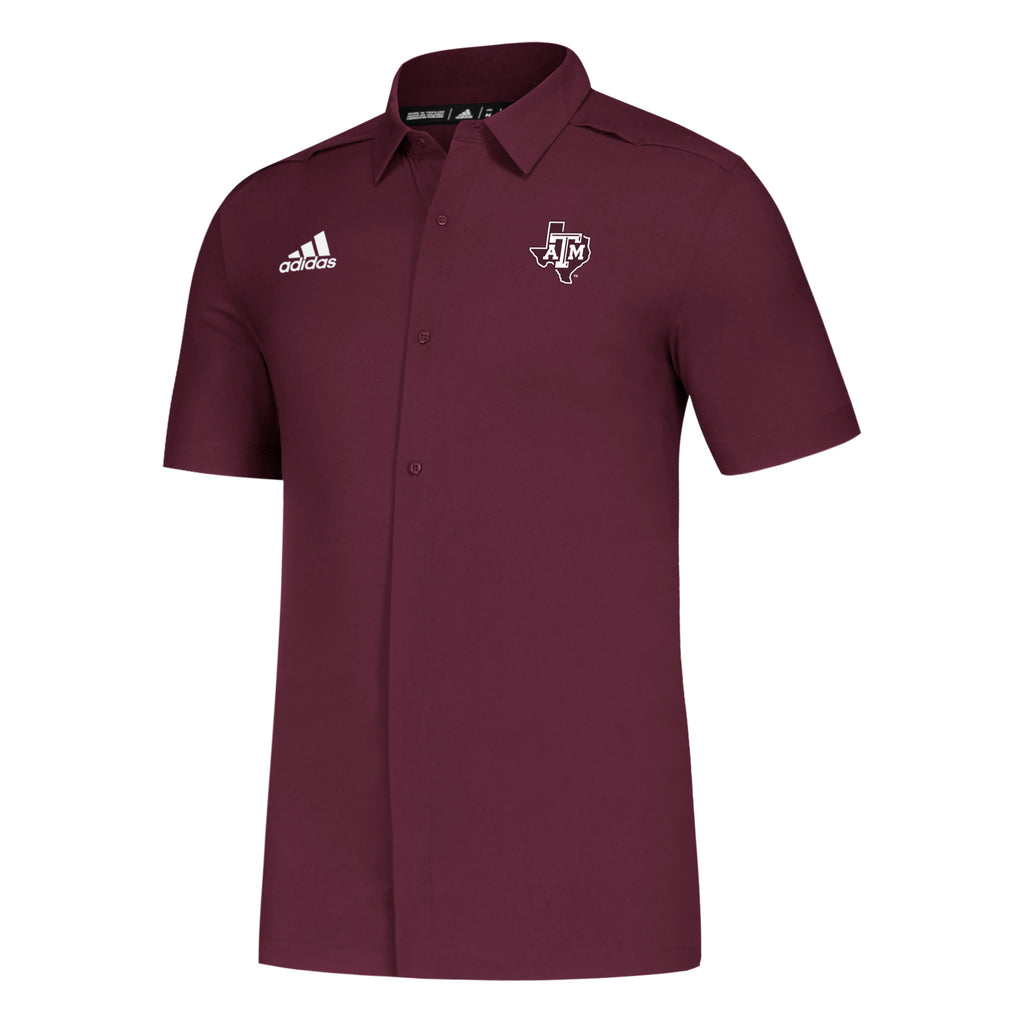 '19 Game Mode Full Button Polo - TXAG Store