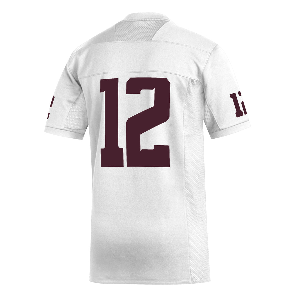 YOUTH - '20 Replica Football Jersey #12 -White - New!