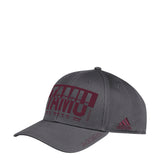 Adjustable TAMU Large Print Hat (grey/Maroon) - TXAG Store