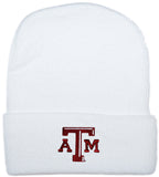 Infant Knit Hat (White) - TXAG Store