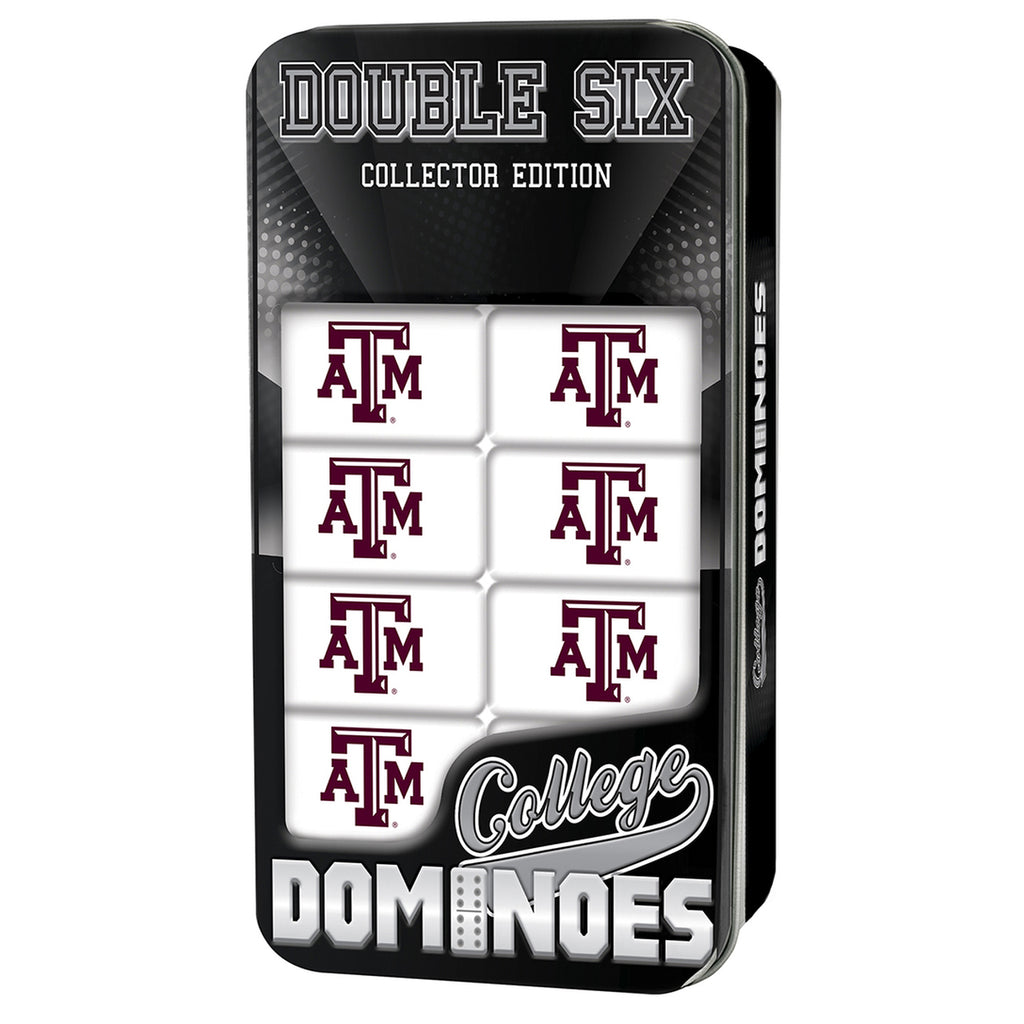 Texas A&M Double 6 Dominoes - TXAG Store