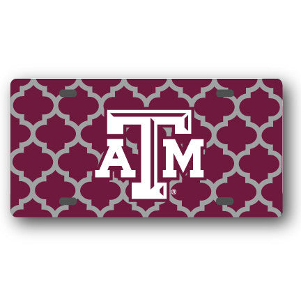 Texas A&M license plate cover