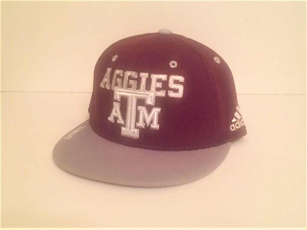 Adidas Fitted Climalite Cap (Maroon) - S/M - TXAG Store