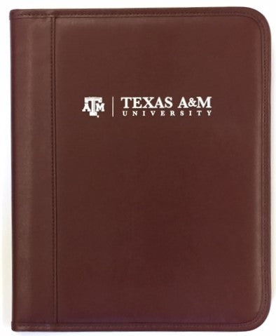 BROWN PADFOLIO (with White imprint) - TXAG Store