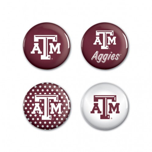 1 1/2 in Buttons - 4 Pack - TXAG Store