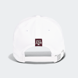 '20 Dad Hat Slouch Adjustable (White) - TXAG Store