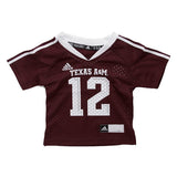 TODDLER Texas A&M Adidas Football Jersey - TXAG Store
