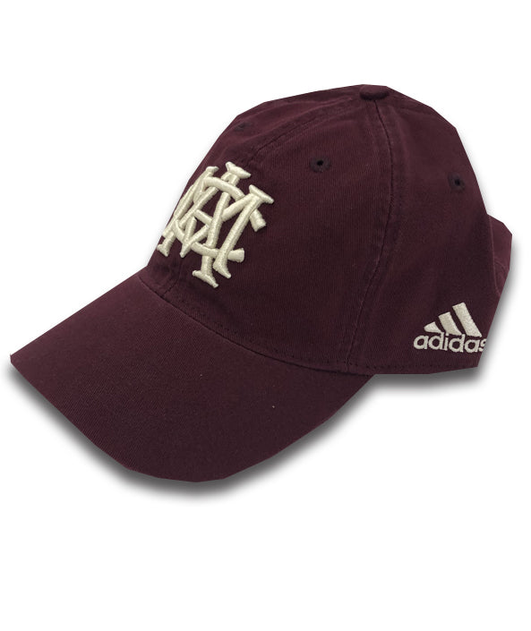 Adidas Adjustable Slouch - Maroon AMC Interlock - TXAG Store