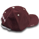 Texas A&M Adidas Coach Adjustable Slouch (Maroon w/ White ATM) - TXAG Store