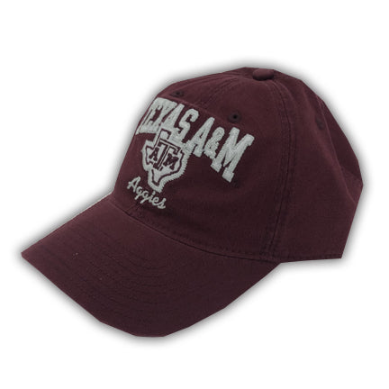 Maroon Adjustable Slouch - Lone Star Aggies - TXAG Store