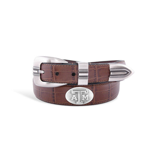 Texas A&M Crocodile Belt