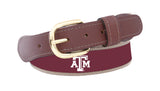 Texas A&M Ribbon Belt