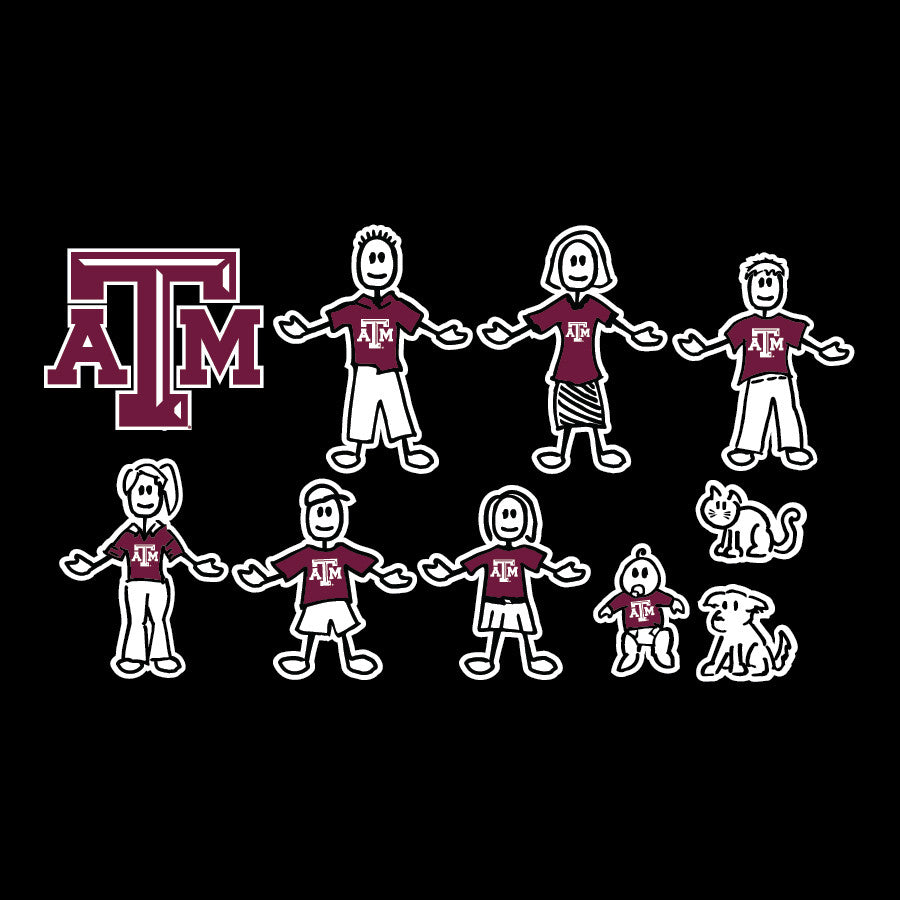 Aggie Family Decal - TXAG Store
