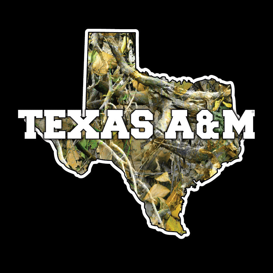 Texas A&M Camo Decal
