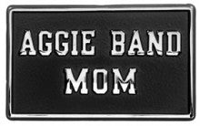 Aggie Band Mom Car Emblem - TXAG Store