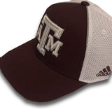 Texas A&M Adidas Spring Game Structure Maroon & White Mesh - TXAG Store