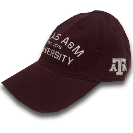 Texas A&M University Maroon Adjustable Cap - TXAG Store