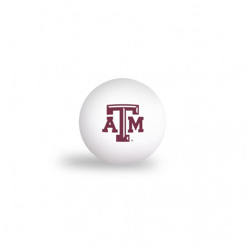 Texas A&M Ping Pong Balls - Set of 6