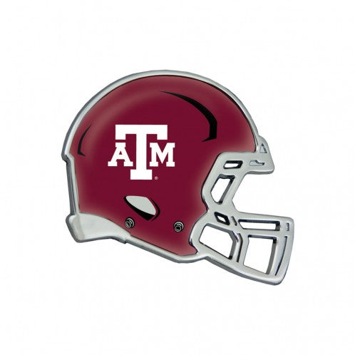 Football Helmet Car Emblem - TXAG Store