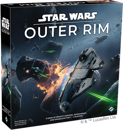 Smorgasboard - Star Wars: Outer Rim: Unboxing video