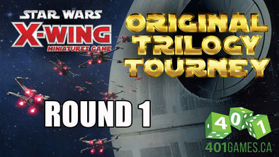 VTTV - X-Wing | Original Trilogy Tournament - Round 1