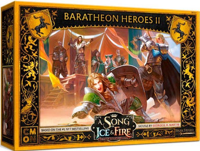 A Song of Ice and Fire - Tabletop Miniatures Game - House Baratheon - Baratheon Heroes 2 (Pre-Order)