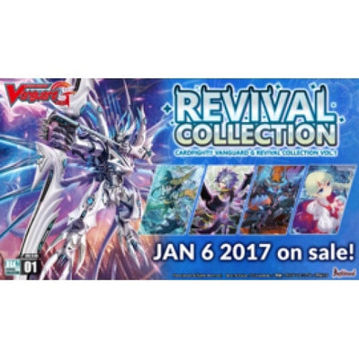 Cardfight!! Vanguard - GRC01 - Revival Collection Booster Box available at 401 Games Canada