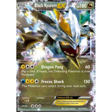 Buy Black Kyurem-EX - 101/149 and more Great Pokemon Products at 401 Games