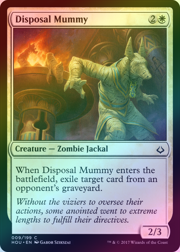 Disposal Mummy (Foil) (HOU) - 401 Games