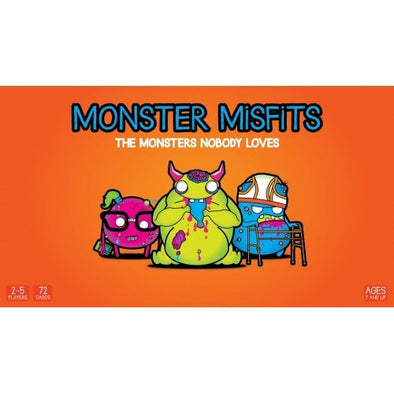 Buy Monster Misfits and more Great Board Games Products at 401 Games