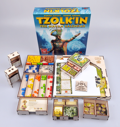 Meeple Realty - Tzolk'in - Box Insert - 401 Games