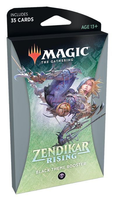 MTG - Zendikar Rising - Theme Booster Pack - Black available at 401 Games Canada