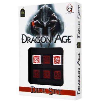 Buy Dice Set - Q-Workshop - 6D6 - Dragon Age and more Great Dice Products at 401 Games