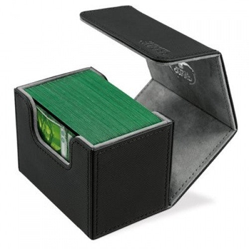 Buy Ultimate Guard - Sidewinder Deck Case Xenoskin 80+ - Black and more Great Sleeves & Supplies Products at 401 Games