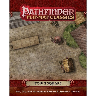 Buy Pathfinder - Flip Mat - Classics: Town Square and more Great RPG Products at 401 Games