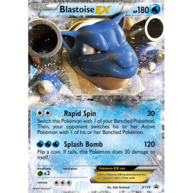 Buy Blastoise-EX - XY30 and more Great Pokemon Products at 401 Games