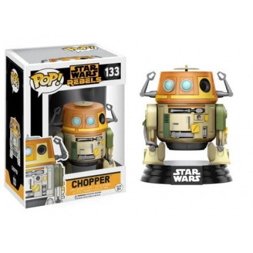 Buy Pop! Star Wars - Star Wars: Rebels - Chopper and more Great Funko & POP! Products at 401 Games
