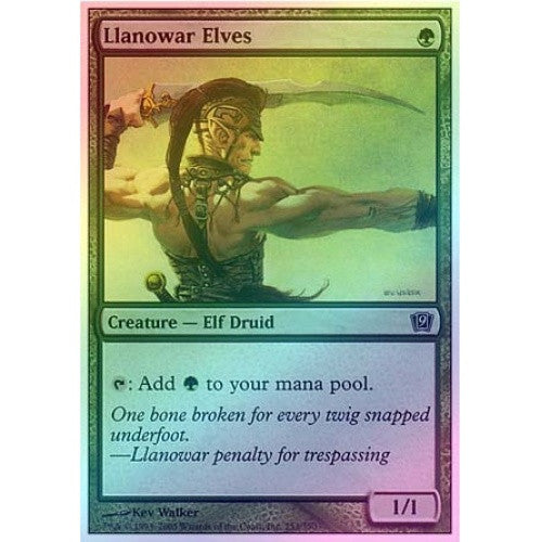 Llanowar Elves (Foil) available at 401 Games Canada