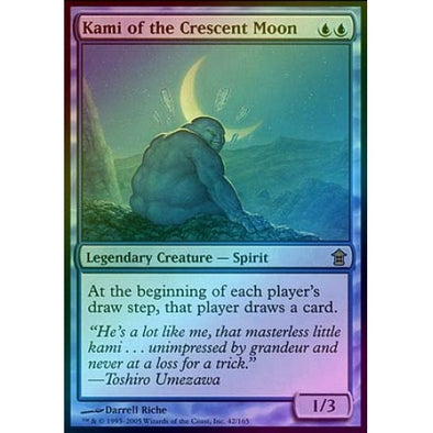 Kami of the Crescent Moon (Foil)