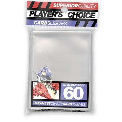 Buy Players Choice - Small / Yu Gi Oh - Clear and more Great Sleeves & Supplies Products at 401 Games