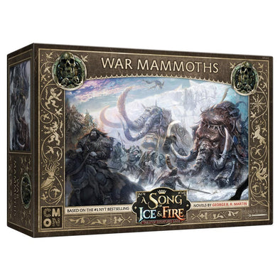 A Song of Ice and Fire - Tabletop Miniatures Game - Free Folk - War Mammoths (Pre-Order) - 401 Games