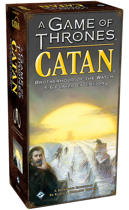 Catan - Game of Thrones: Brotherhood of the Watch - 5-6 Player Extension - 401 Games