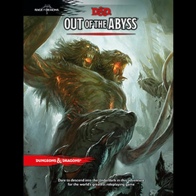 Dungeons and Dragons 5th Edition - Out of the Abyss - 401 Games