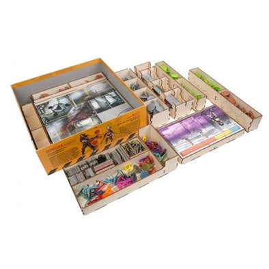 Buy The Broken Token - Zombicide Season 2 - Box Organizer and more Great Inserts and Overlays Products at 401 Games